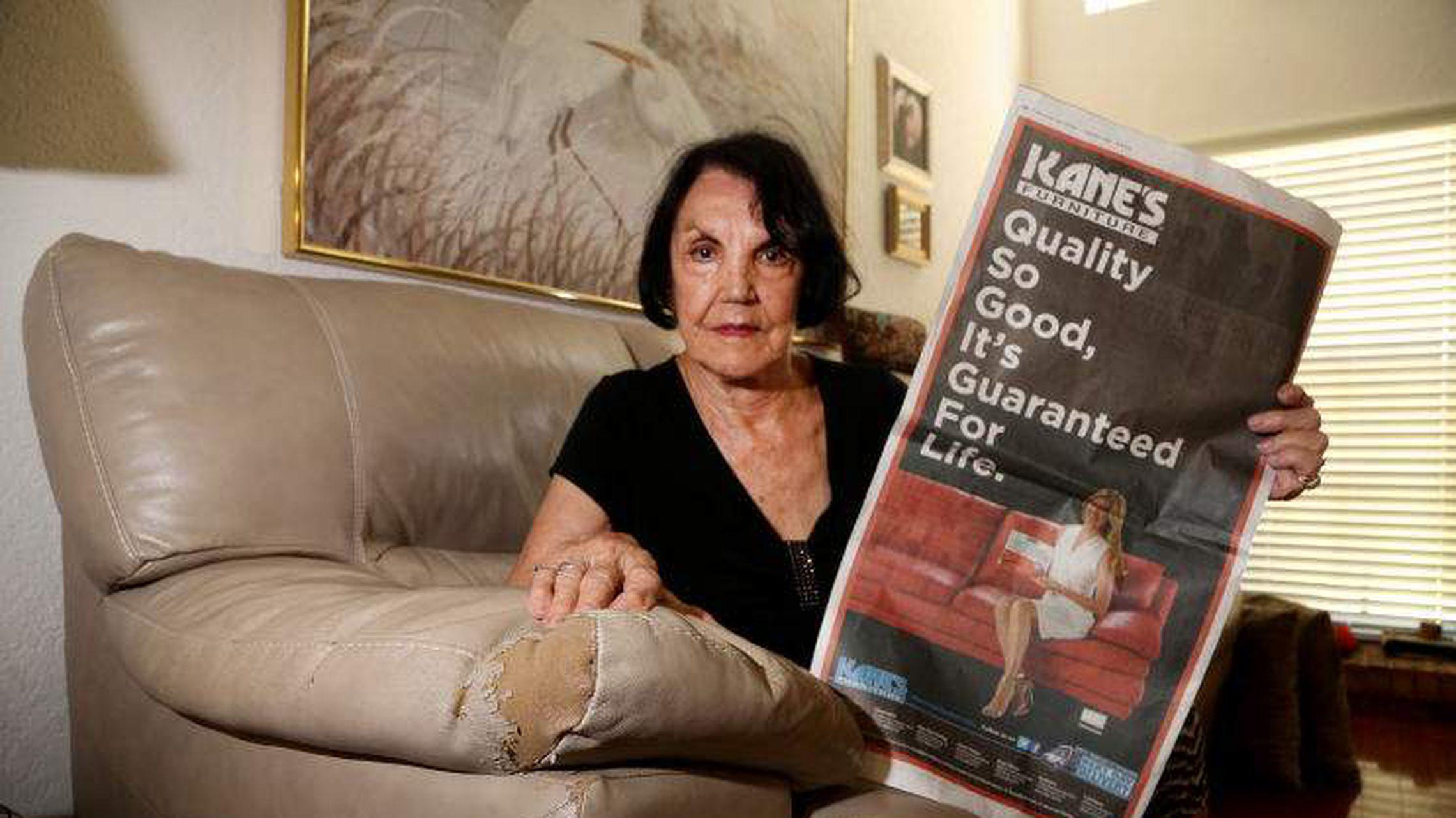 Kane S Fends Off Customer Complaints Of Cracking Peeling Furniture