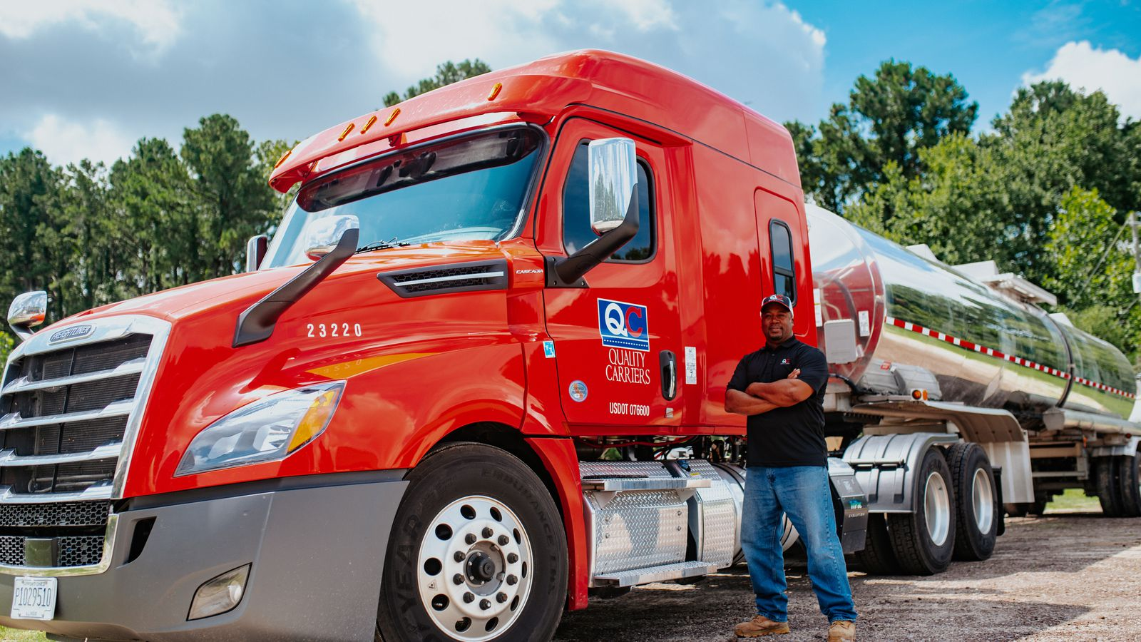 Tampa's Quality Carriers is being sold to the CSX Corp., creating a sprawling new multimodal liquid chemical shipping network.