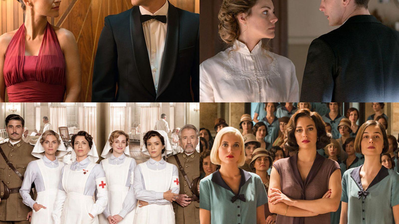 The 5 Best Spanish Period Dramas On Netflix Gran Hotel Cable Girls Velvet Tiempos De Guerra