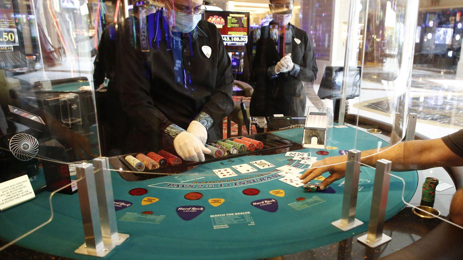No full house as Tampa Seminole Hard Rock casino reopens