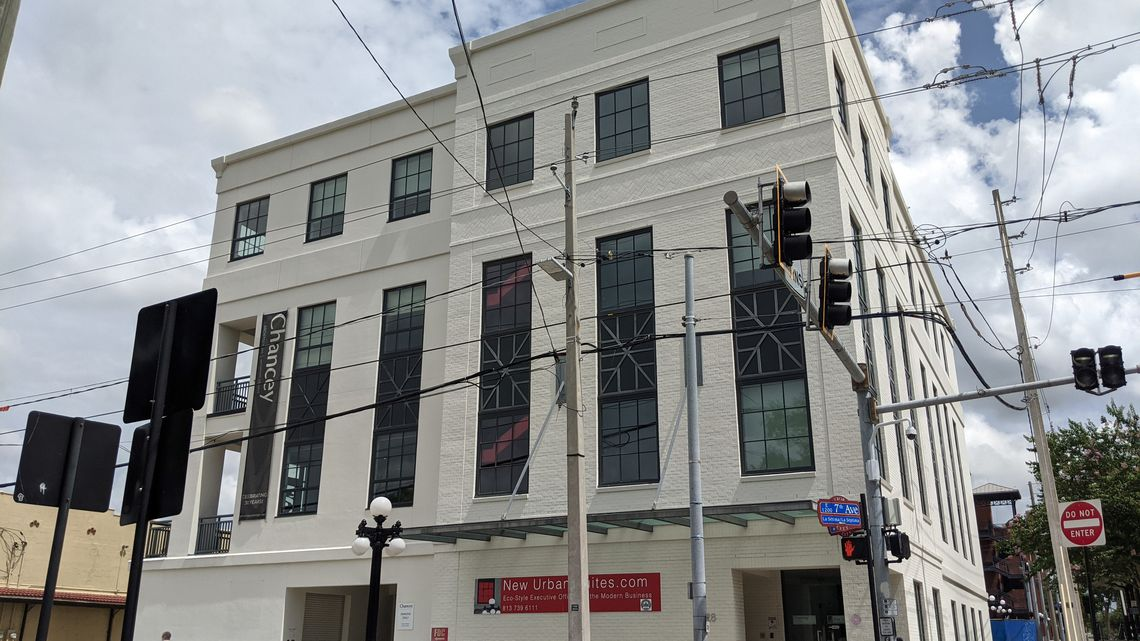 Strom Inc. previously listed an Ybor City building as its physical location, which it no longer occupies. Pictured is the building. [ MALENA CAROLLO | Tampa Bay Times ]