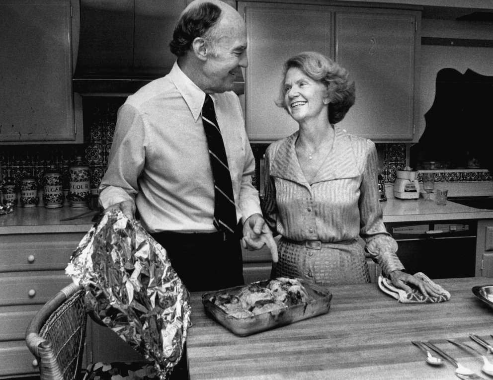 Jack and Ruth Eckerd in 1971. [Times archives]