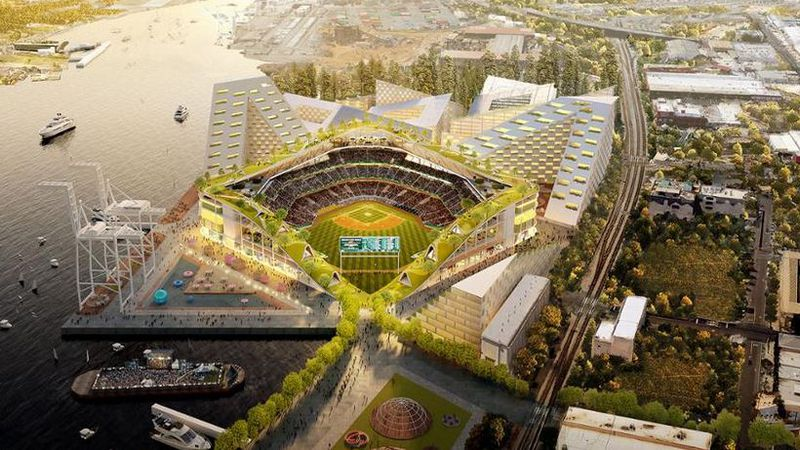 A look at latest plan for a new Oakland baseball stadium