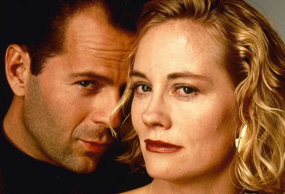 Bruce Willis played David Addison and Cybill Shepherd played Maddie Hayes in ''Moonlighting.'' Photo from Lions Gate Entertainment