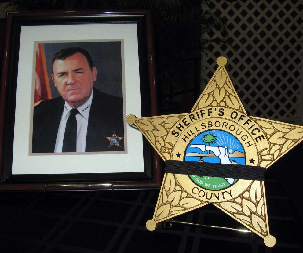 Walter Heinrich, who died in 2010, was elected Hillsborough sheriff four times. He ran twice without opposition. [Times files (2010)]