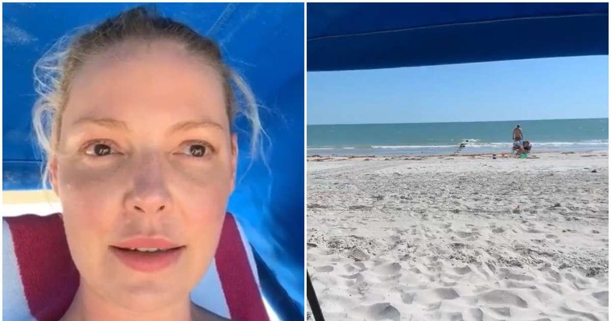 'I am now in St. Petersburg:' Katherine Heigl says in Instagram video