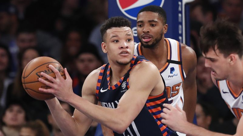 Playing time with New York Knicks for Tampa's Kevin Knox is in free fall