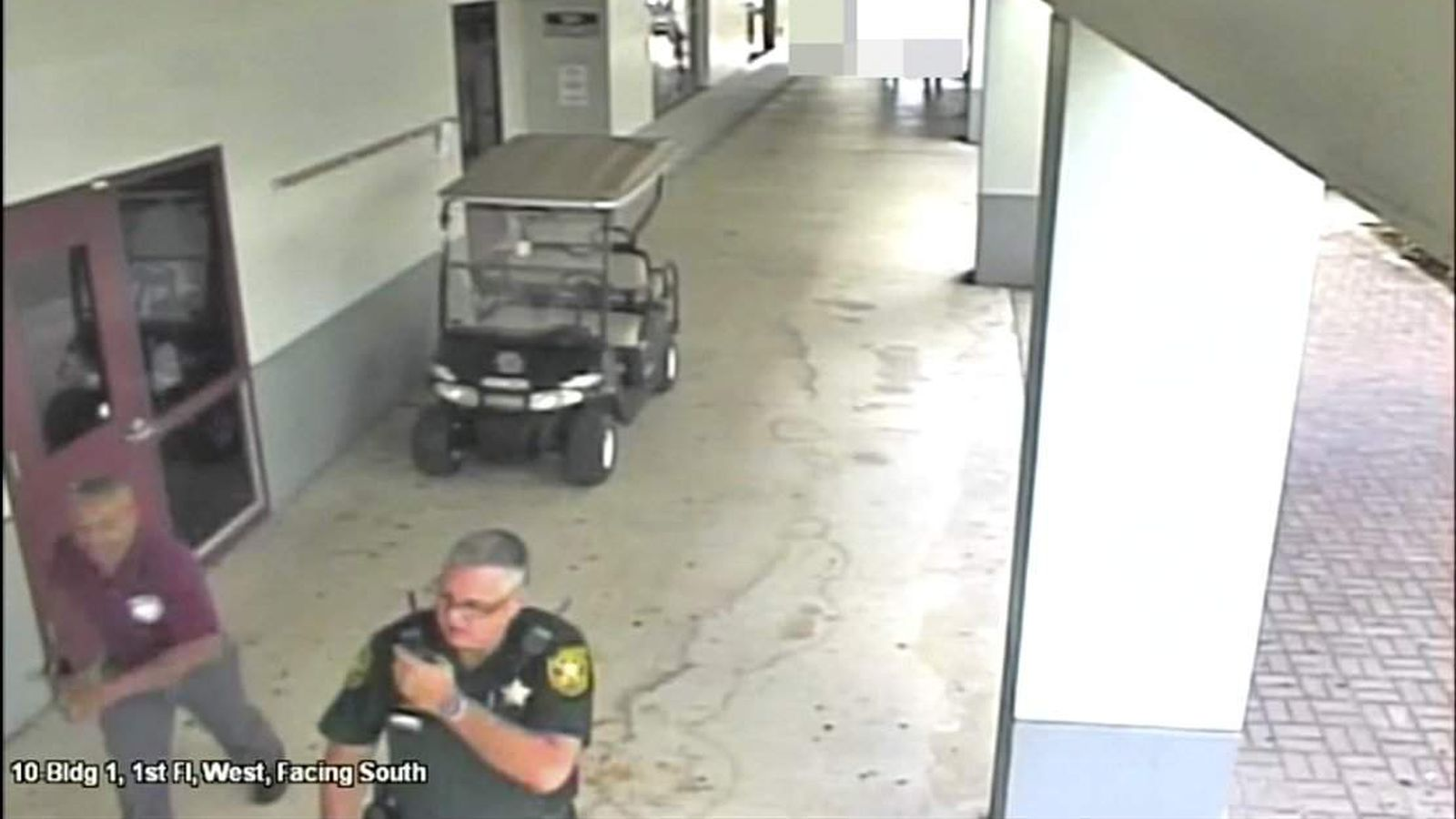 He retreated and ran:' New video spotlights former Parkland