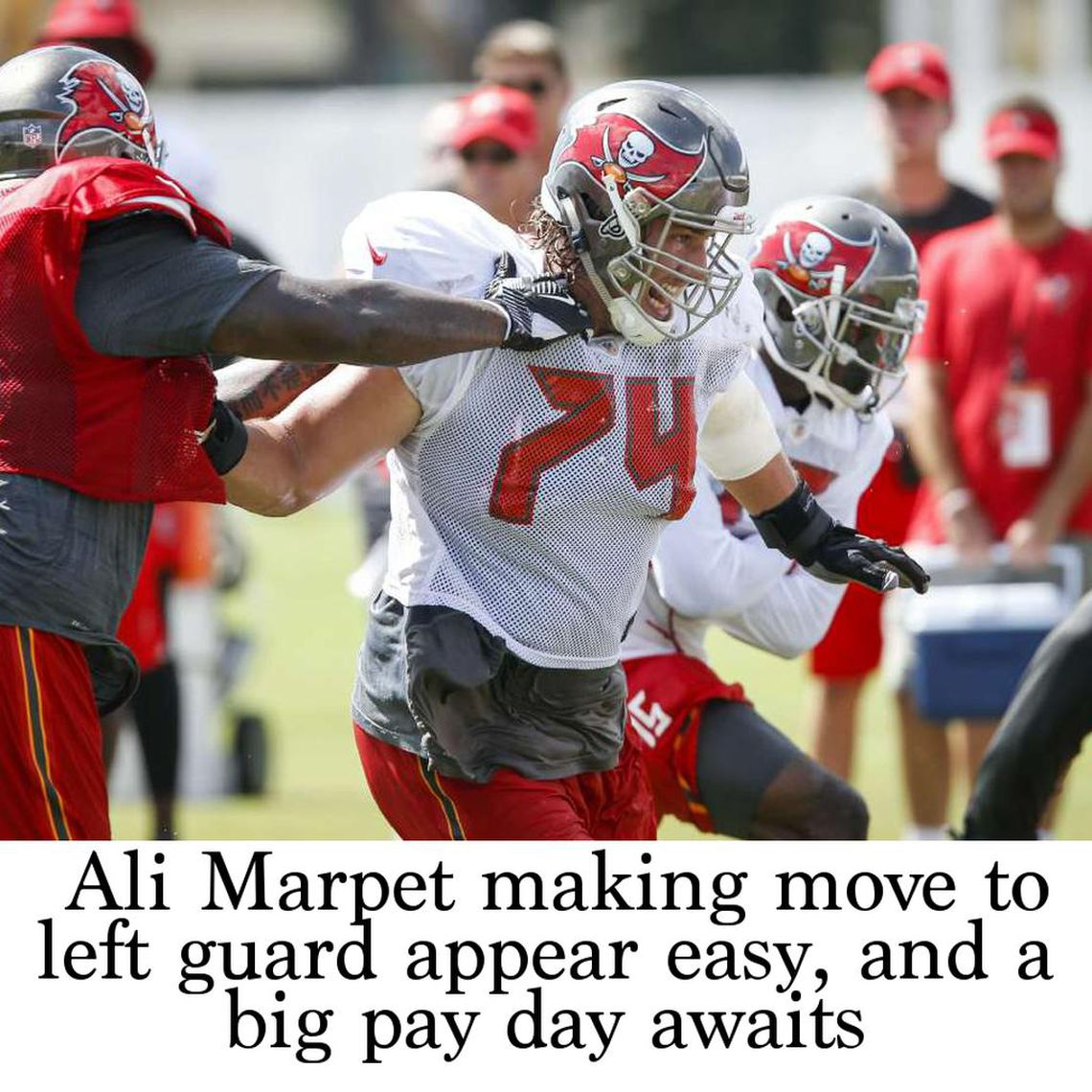 san francisco 80bd4 330e2 Ali Marpet making move to left guard appear easy, and a big ...