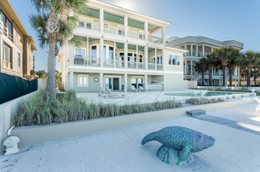 This home in Belleair Shore sold in March for $4.4 million. [Courtesy of Alona Dishy]