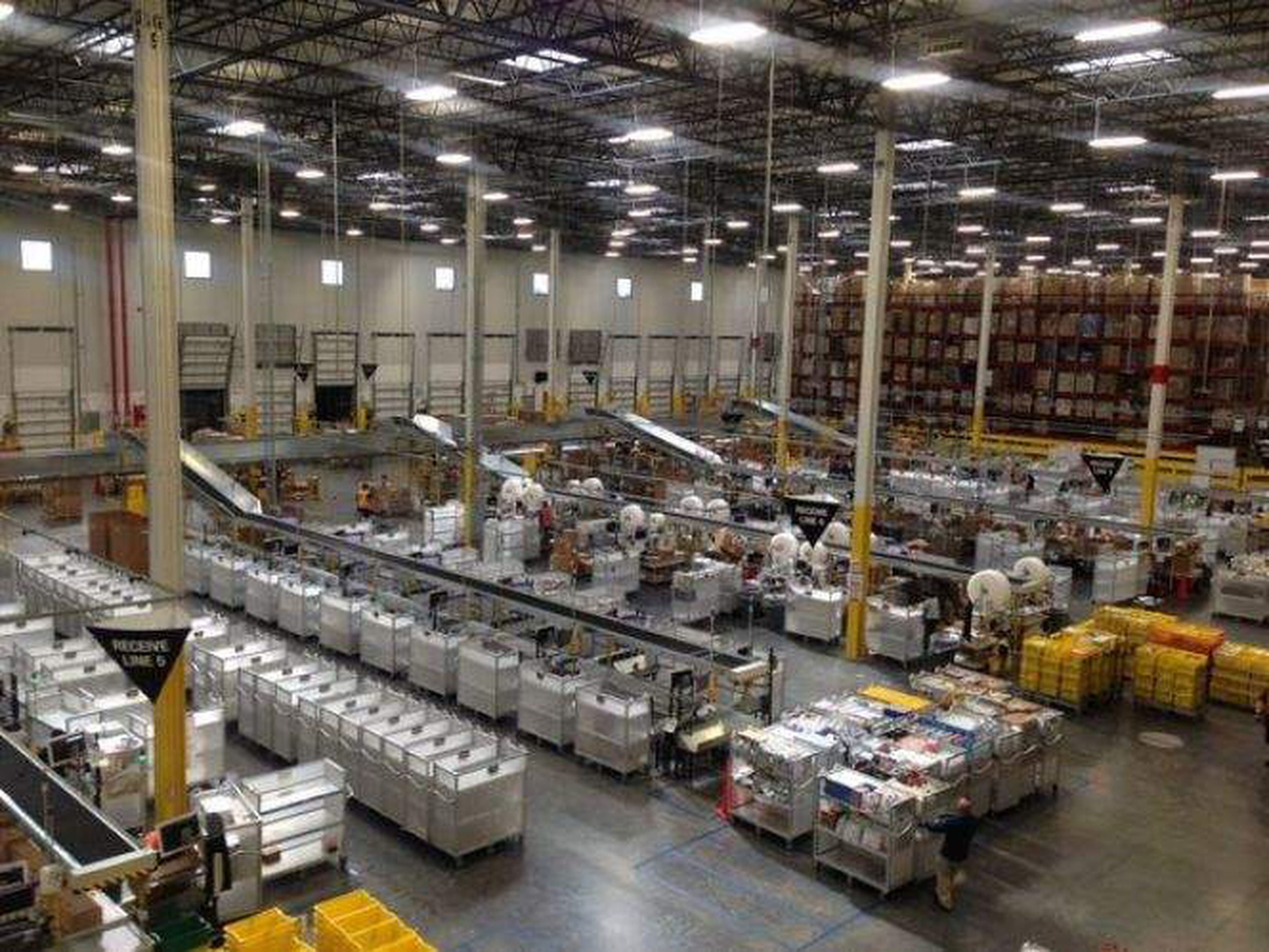 Have a look inside the 1-million-square-foot Amazon