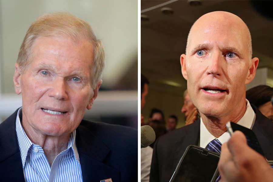 Sen. Bill Nelson is gearing up for a race against. Gov. Rick Scott. (Times files)
