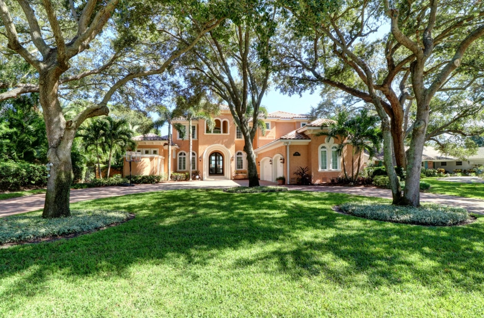 This home in St. Petersburg's Snell Isle sold in June 2017 for $3.4 million. [Courtesy of Strickland Property Group]