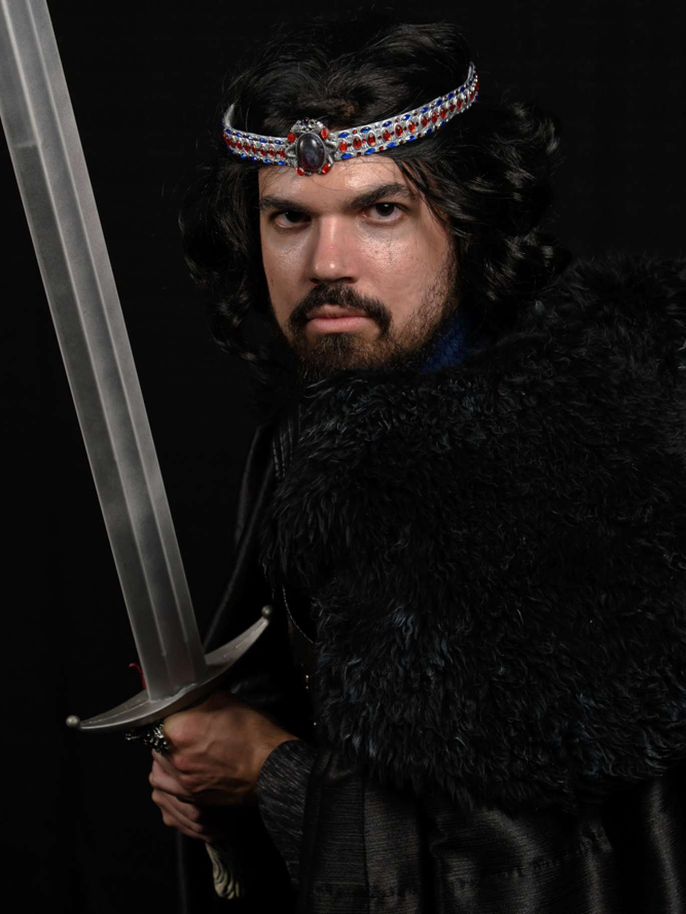 Anthony Acosta, 28, an IT specialist for USF, wearing a Game of Thrones-themed Jon Snow costume. [Courtesy of Anne Rosato]