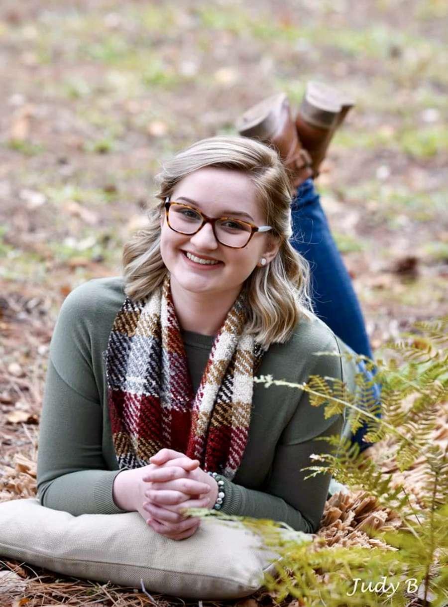 Morgan Buchanan is the 2018 salutatorian at Dixie Hollins High School.
