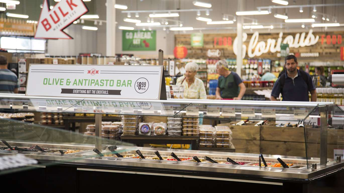 Lucky's Market in St. Petersburg on Tuesday, June 5, 2018. The Market's grand opening on June 6, 2018. [EVE EDELHEIT   Times]