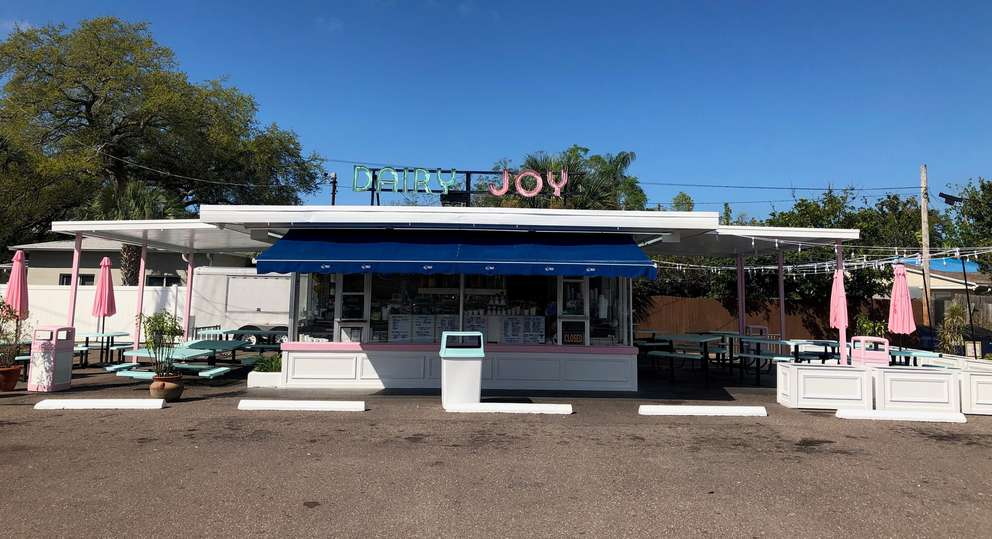 Dairy Joy has resided at 3813 S Manhattan Ave for decades. (MONIQUE WELCH | Times)
