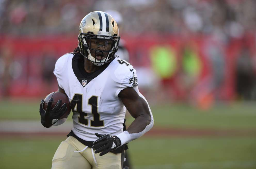 Saints running back Alvin Kamara averaged more than 6 yards per run and 10 yards per catch last season. In two games against the Bucs, he caught 12 passes for 168 yards and a touchdown. [Associated Press]
