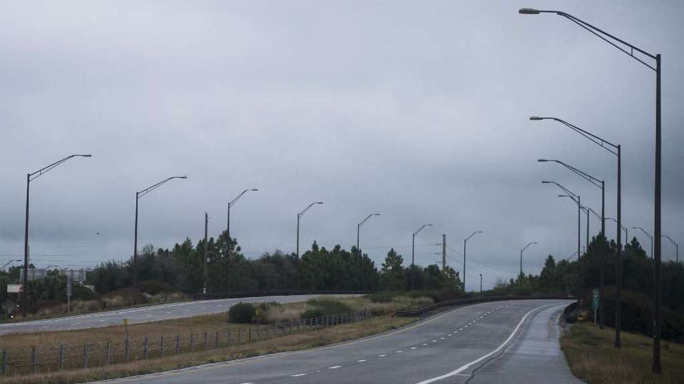 The northern reaches of the Suncoast Parkway often don't get much traffic. Times (2016)