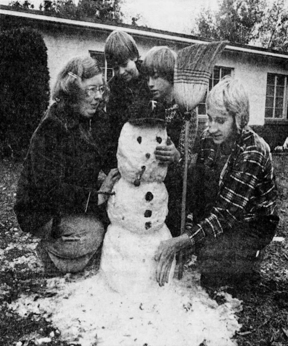 Remember When It Snowed In Tampa Bay 42 Years Ago?