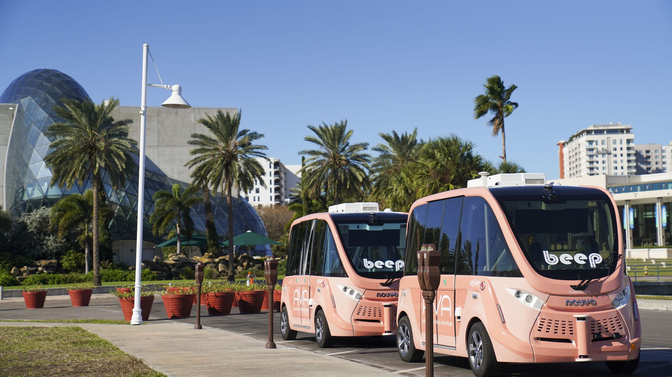 Driverless shuttles spark more interest in St. Petersburg than Tampa