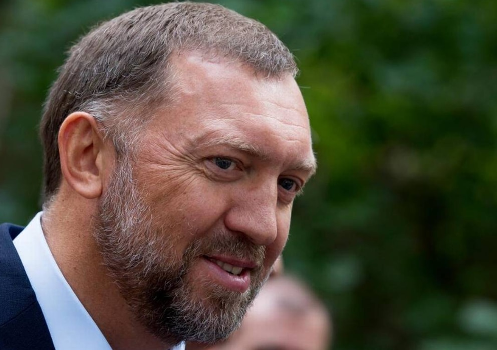 Russian metals magnate Oleg Deripaska attends Independence Day celebrations at Spaso House, the residence of the American ambassador, in Moscow, July 2, 2015. Alexander Zemlianichenko AP