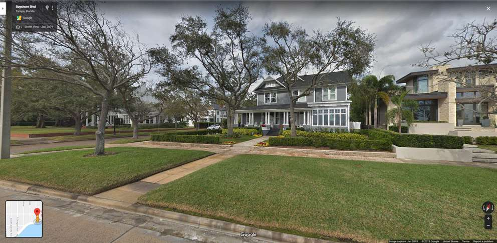 A screenshot of the home (Courtesy of Google Maps)