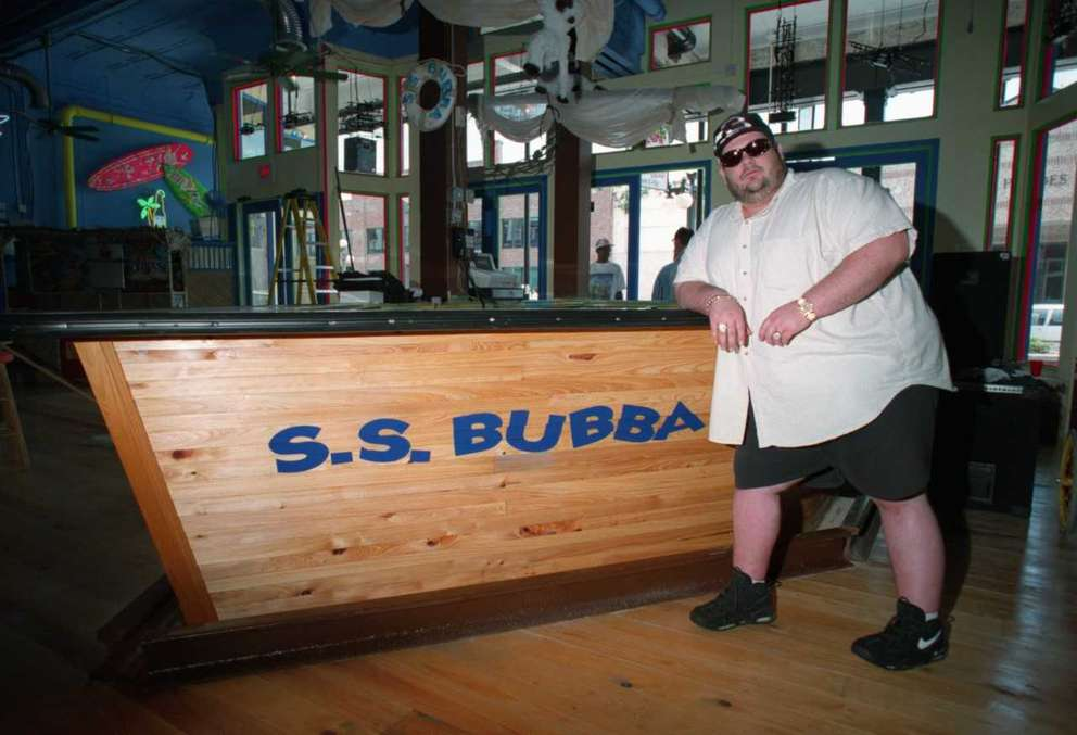 Bubba the Love Sponge at Bubba's Beach Club in Ybor City in 1996. [Times Files]