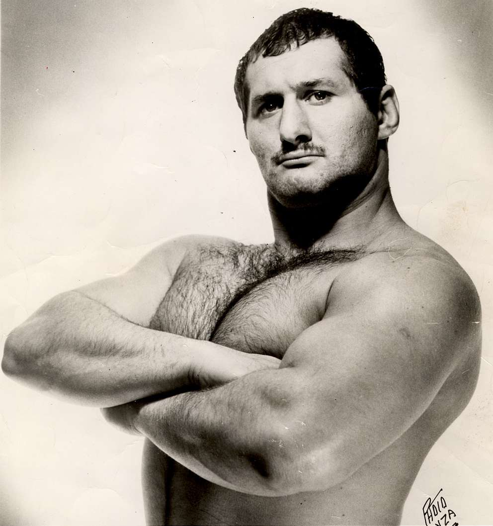 Larry Simon, also known as The Great Malenko. [Times files (1965)]