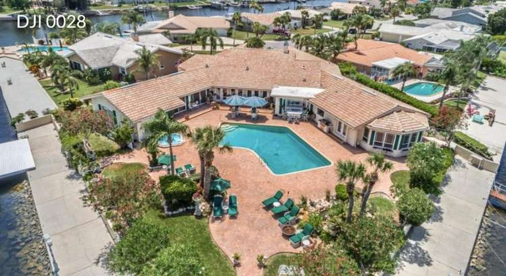 This waterfront home in New Port Richey sold in March 2018 for $1.1 million. [Courtesy of Rhea Jeffrey]