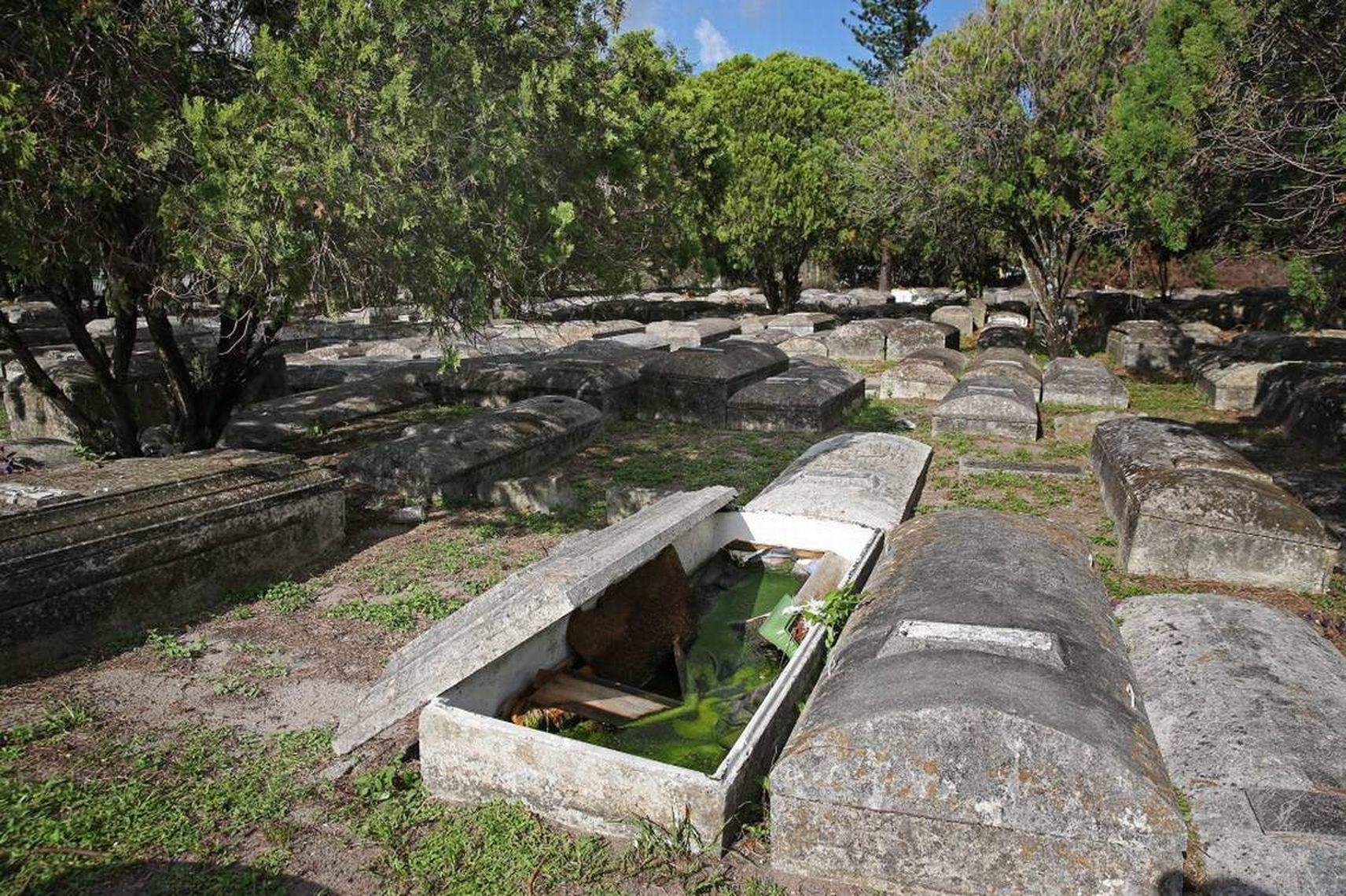 Voodoo, prostitutes and vagrants: Grave robbers vandalize