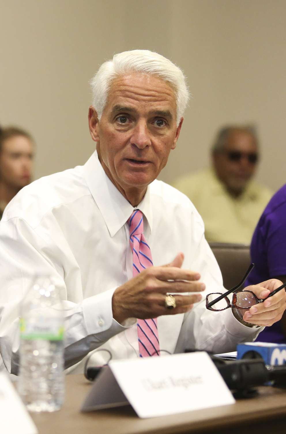 U.S. Rep. Charlie Crist cosigned a letter to the Centers for Medicare and Medicaid Services sharing concerns about a lack of regulatory oversight. [DIRK SHADD | Times]