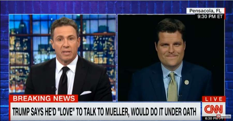 CNN's Chris Cuomo Argues With GOP Lawmaker Over the Immaculate Conception