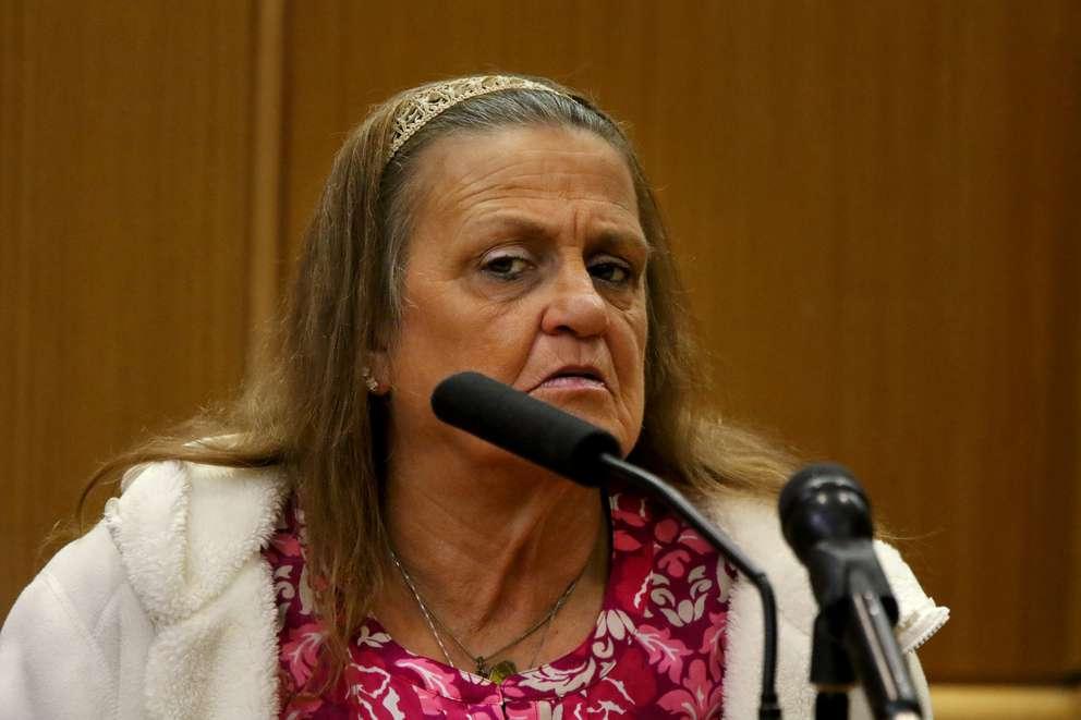 Michele Jonchuck testifies Friday in the murder trial of John Jonchuck. DOUGLAS R. CLIFFORD | Times
