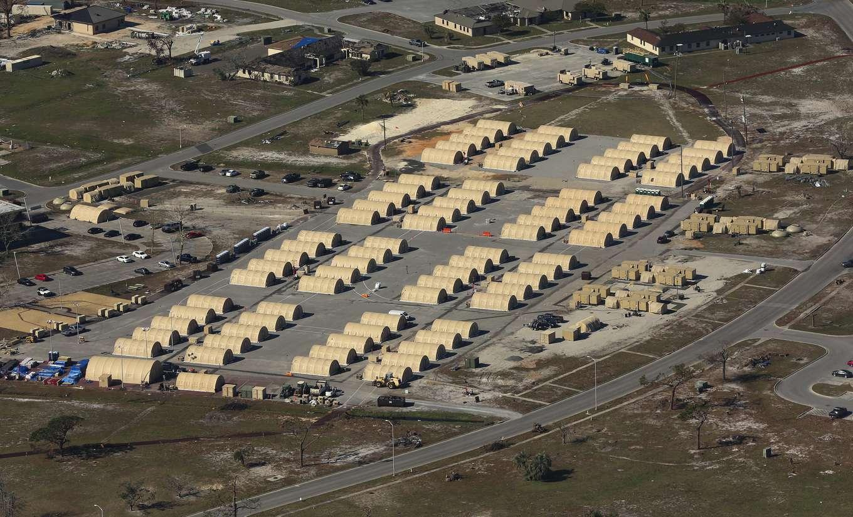 Apparent tornado damages Tyndall Air Force Base - News