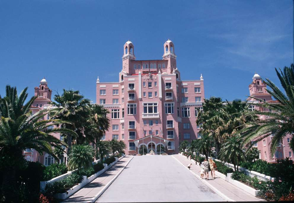 The Don CeSar Hotel on St. Pete Beach. Times (1995)