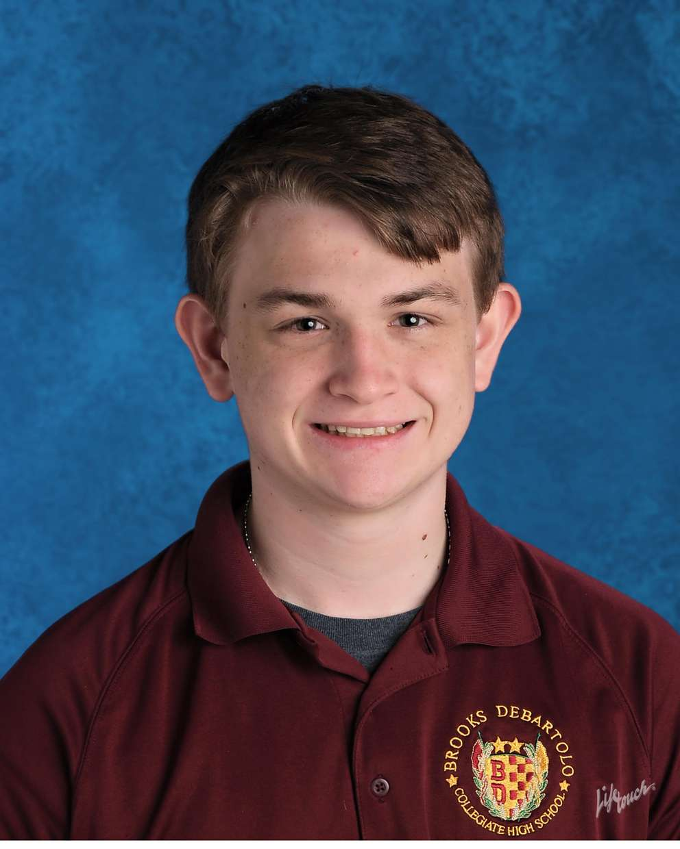 Brooks DeBartolo Collegiate High School valedictorian Chandler Carr
