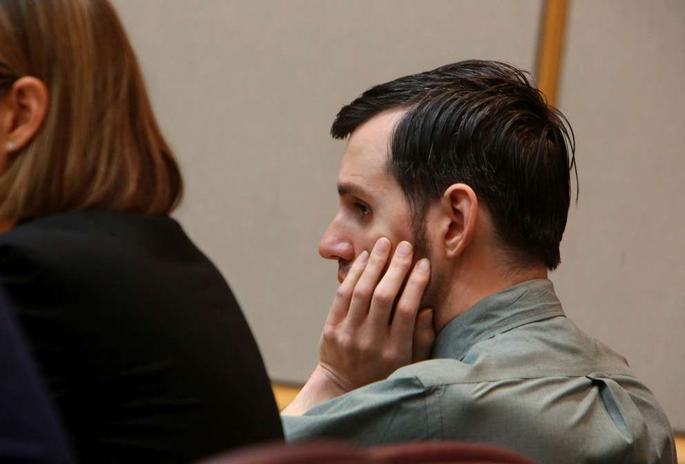 Defendant John Jonchuck listens to a description of Phoebe's death during opening statements in his trial. SCOTT KEELER | Times