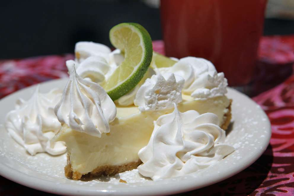 Key Lime Pie at the Thirsty Marlin in old historic Palm Harbor. Times (2015)
