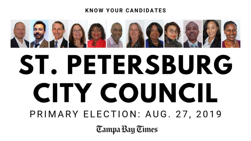 Here's a rundown of the St. Petersburg City Council primary elections today