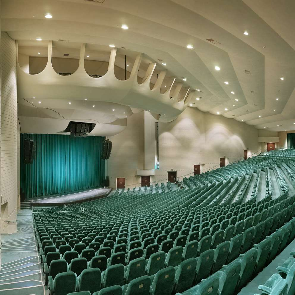 Interior of Ruth Eckerd Hall. [Handout photo]