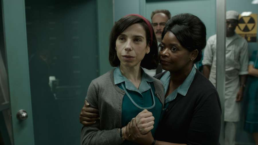 Sally Hawkins and Octavia Spencer in The Shape of Water. Fox Searchlight Pictures.