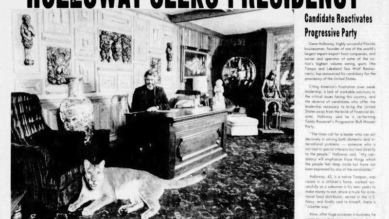 Tampa S Original Tiger King Reliving The Saga Of The Sea