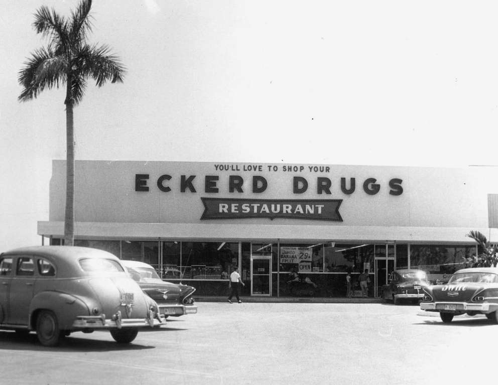 An Eckerd Drug Store in 1970. [Times files]