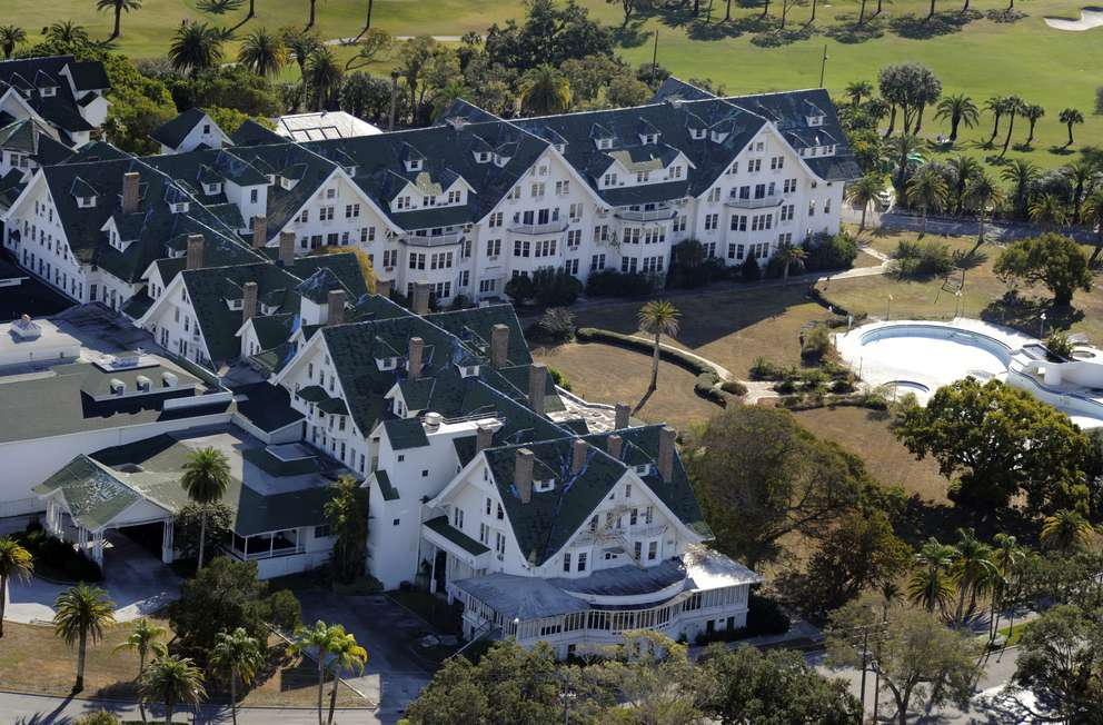 Owners of the Belleview Biltmore hotel have applied for a permit to demolish most of the historic hotel. Times (2012)