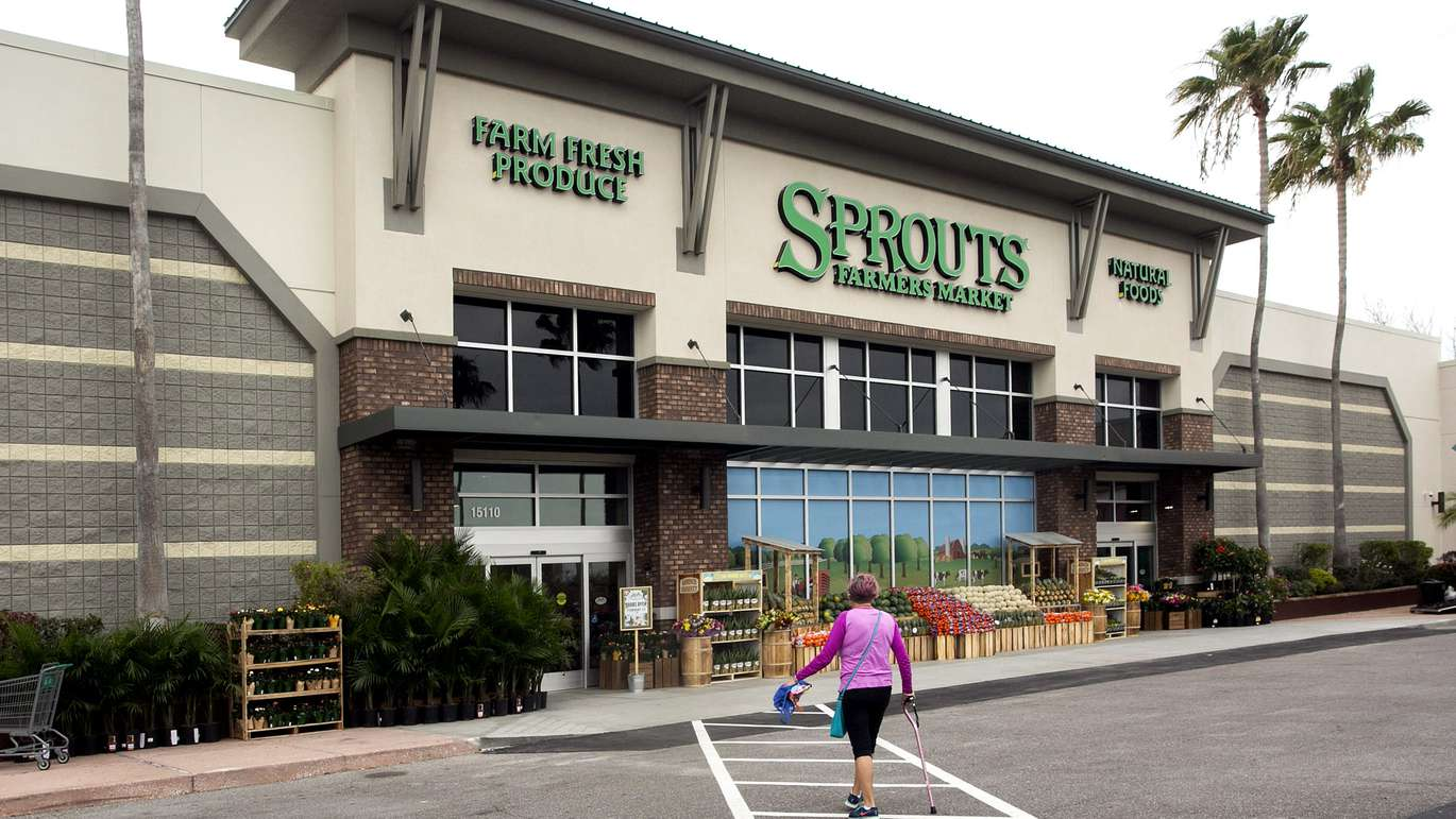 The Sprouts Farmers Market in Carrollwood at 15110 Dale Mabry Highway, Tampa,FL, Tuesday, February 21, 2017. It's the first Sprouts Farmers Market to open in Tampa and will open to the public Wednesday, Feb. 23. [CHERIE DIEZ | Times]