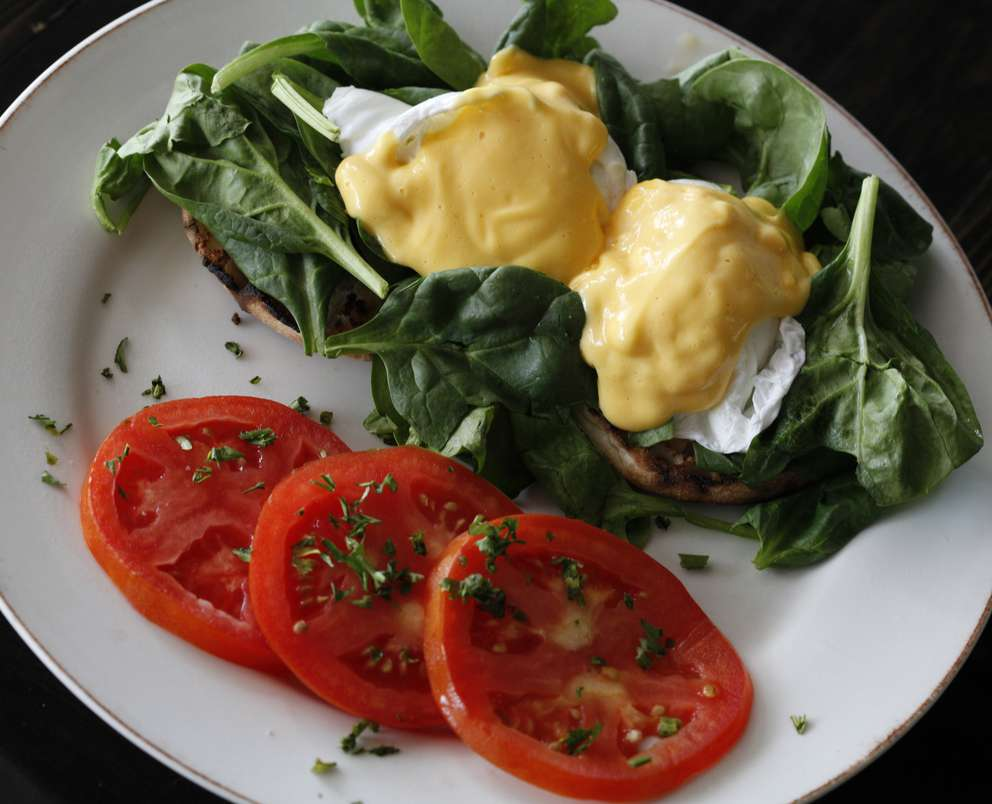Stella's is beloved by the locals in Gulfport. The breakfast-and-lunch diner is owned by partners Barbara and Jeanne. Breakfast includes Florentine benedict with tomato slices. Times (2012)