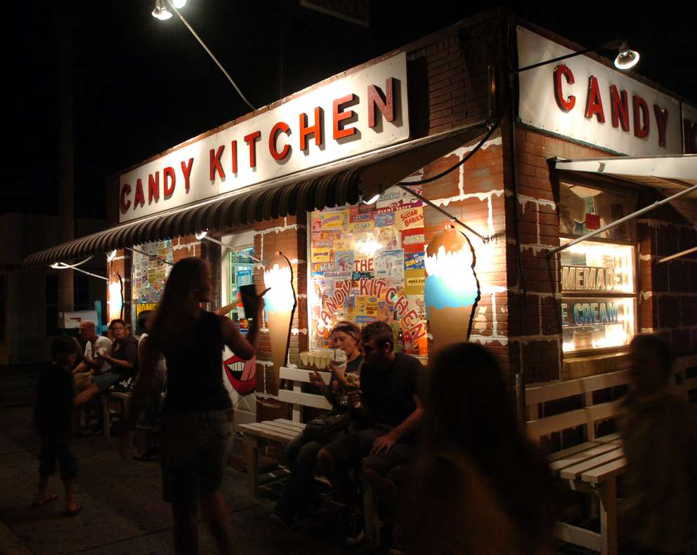 Candy Kitchen in Madeira Beach. (Times, 2007)