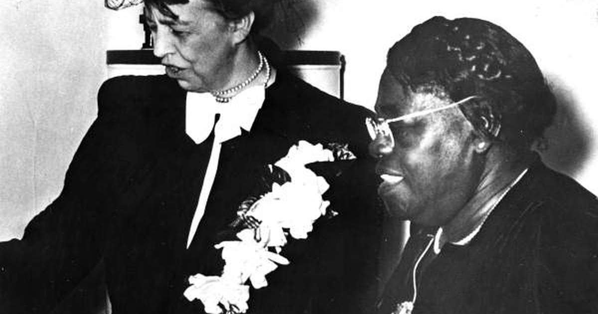 Bye-bye Confederate general. Hello Mary McLeod Bethune.