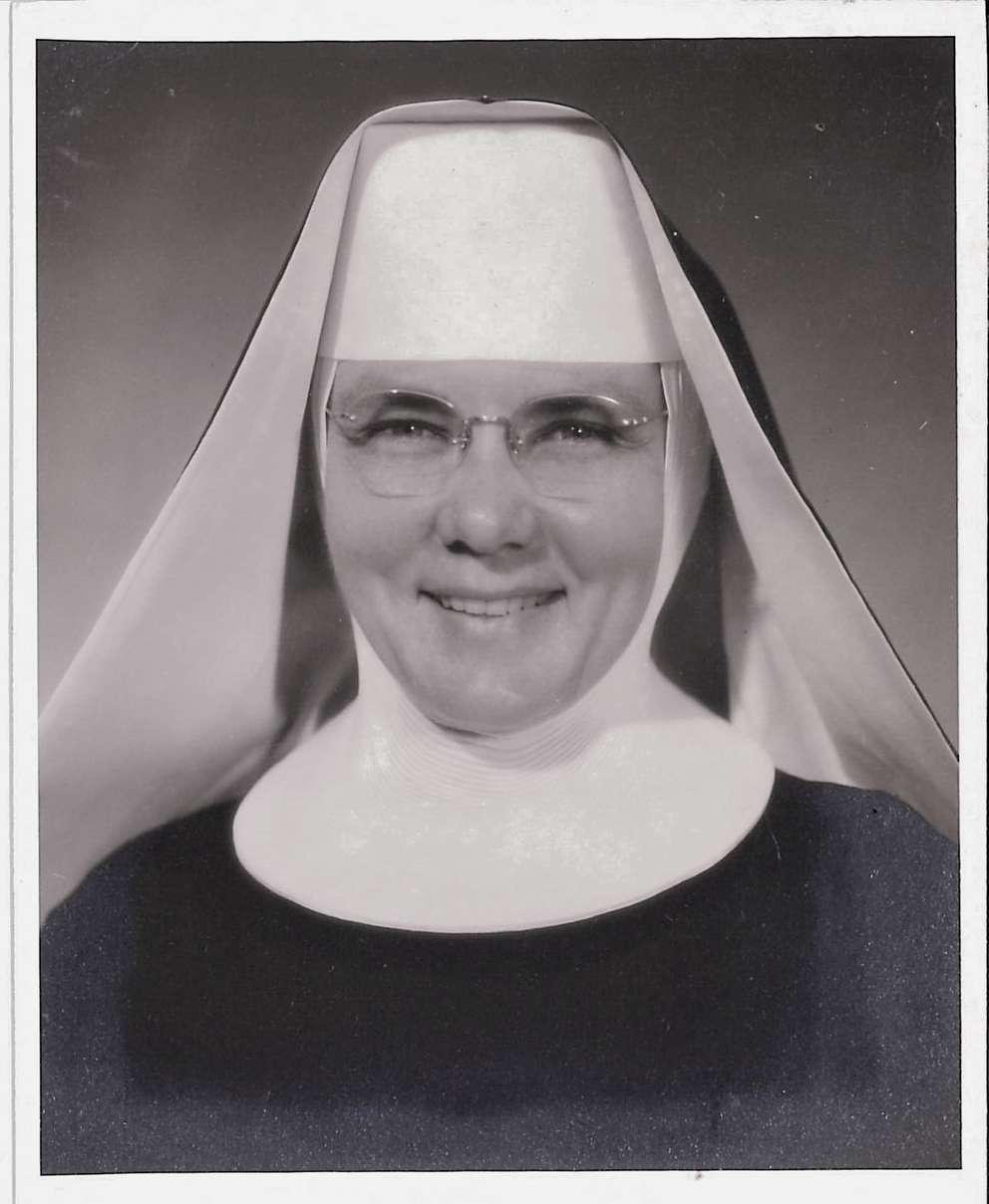 After Sister Helen Lange retired, she worked as pastoral minister at Bon Secour Maria Manor nursing home in St. Petersburg and Our Lady of the Snows in Belleville, Ill. She also wrote a memoir, Kicking the Habit. (Photo courtesy Faith Pridmore)